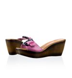 Pair of women shoes Royalty Free Stock Images