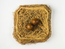 Pair of wooden Chinese balls Baoding Stock Photos
