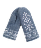 Pair of woolen mittens Stock Photography