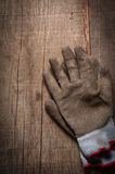 Pair of Work gloves Stock Image
