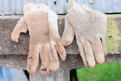 A pair of work gloves Stock Photography