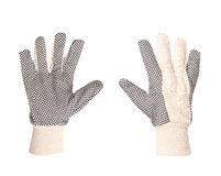 Pair of working gloves. Royalty Free Stock Photography