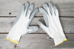 Pair of working gloves Stock Images