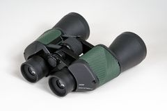 Pair of 12x50 field binoculars. Royalty Free Stock Images