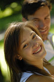 Pair young people Royalty Free Stock Photos