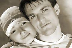 Pair young people Stock Photography
