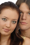 Pair young people Stock Image