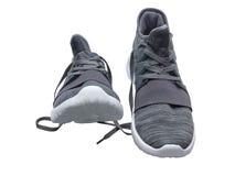 Paires d'espadrilles grises Photo libre de droits