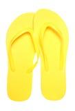 Paires de bascules électroniques jaunes Photographie stock libre de droits