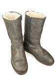 Paires de bottes grises image stock