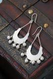 Paires de boucles d'oreille chinoises Images stock