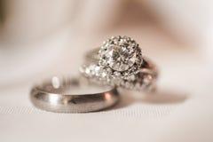 Paires de boucles de mariage Photographie stock libre de droits