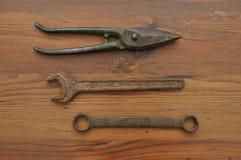 Paires de bouts et de clés Photo stock