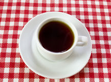 Paires de café blanc photographie stock