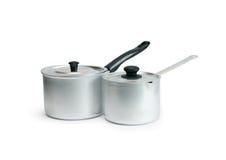 Paires de casseroles Images libres de droits