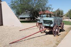 Paires de chariots de Conestoga Photos libres de droits