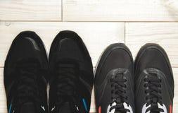 Paires de chaussures Photo stock