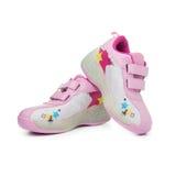 Paires de chaussures d'enfant Photo libre de droits