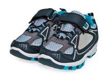 Paires de chaussures de chéri d'isolement sur le blanc Photographie stock libre de droits