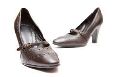 Paires de chaussures de femmes Images libres de droits