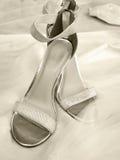 Paires de chaussures de haut talon Images libres de droits