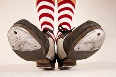 Paires de chaussures de robinet Photographie stock