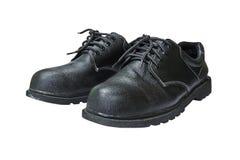 Paires de chaussures de sécurité images libres de droits