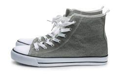 Paires de chaussures de sport de toile Images stock