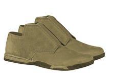 Paires de chaussures de suède Photo stock