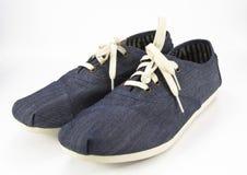Paires de chaussures en caoutchouc Photos stock