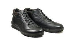 Paires de chaussures en cuir chaudes Photo stock