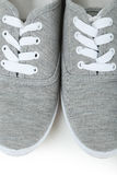 Paires de chaussures grises Image libre de droits