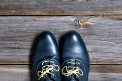 Paires de chaussures italiennes Photo libre de droits