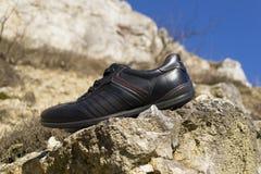 Paires de chaussures noires Photo stock