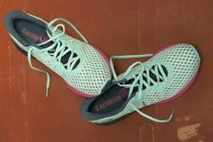 Paires de chaussures parfaites d'Asics NOOSA FF 2 photo stock