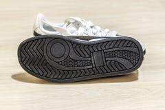 Paires de chaussures Semelle de la chaussure Images libres de droits