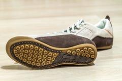 Paires de chaussures Semelle de la chaussure Images stock