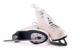 Paires de chiffre patins d'isolement sur le fond blanc Photographie stock
