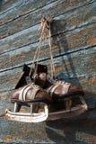 Paires de cru de patins de glace de mens Images stock