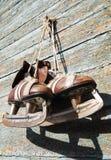 Paires de cru de patins de glace de mens Photographie stock