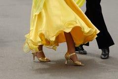 Paires de danse Photo stock