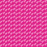 Paires de fond sans couture de coeurs Photos libres de droits