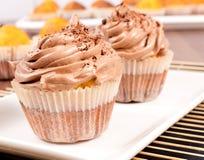 Paires de gâteau de tasse Images stock