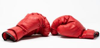 Paires de gants de boxe photos libres de droits