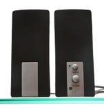 Paires de haut-parleurs Photo stock