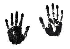 Paires de mains Images libres de droits