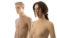 Paires de mannequins | D'isolement Photos stock