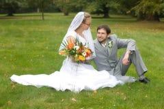 Paires de mariage Images libres de droits