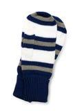 Paires de mitaines de tricotage Images libres de droits