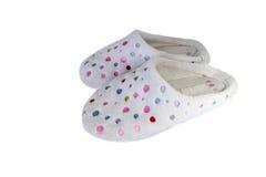 Paires de pantoufles confortables Images libres de droits